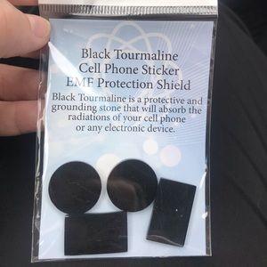 Brand New EMF Protectors Black Tourmaline Set of 4